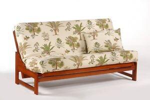 futon frame solid wood eureka futon sofa bed frame full