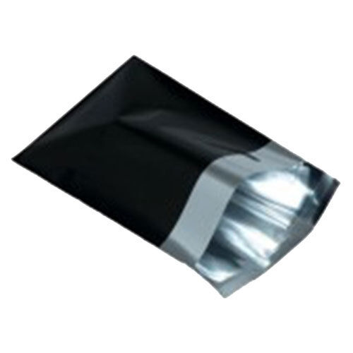 """100 Negro Metalizado 14 Pulgadas x16 de correo /""""de franqueo postal Bolsas"""