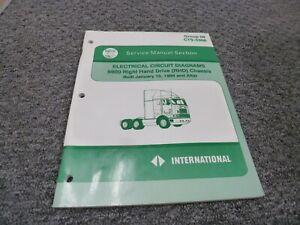 2001-2002 International 9800 RHD Truck Chassis Electrical ...