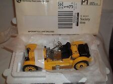 Franklin Mint Stutz Bearcat 1915 Yellow Mint & Boxed
