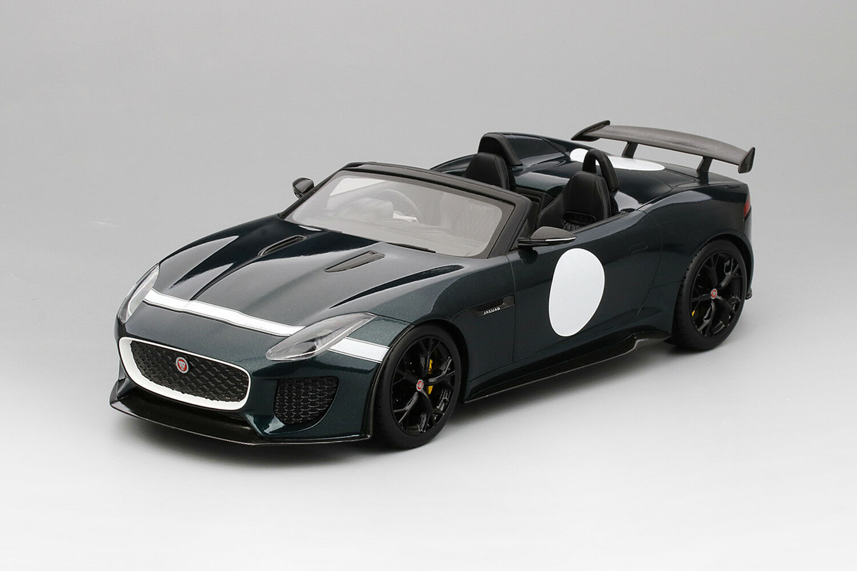 Jaguar F-Tipo Británico Carreras verde 999pc 1 18 coches modelo limitadas por velocidad superior TS0033