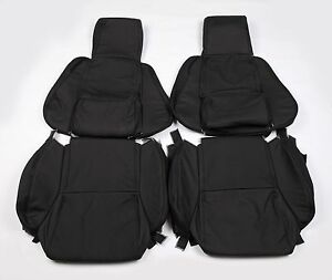 Custom Made 1984 1988 C4 Corvette Real Leather Seat Covers