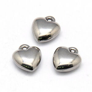50pc 304 Stainless Steel Female Male Charms Hollow Sign Dangle Pendants 11x7.5mm