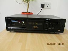 Sony TC-K611S 3 HEAD Stereo Deck. NUOVE CINTURE, PINCH ROLLER e DOLBY S