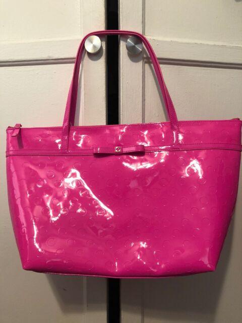 Kate Spade Camellia Street Sophie Purse Tote Neon Pink Shire Wkru2471