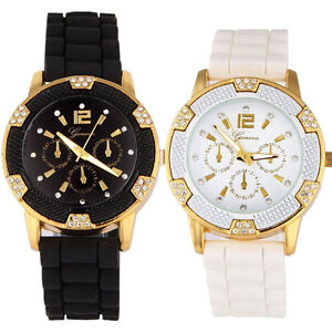 2016-Moderno-Reloj-Para-Mujer-Oro-Rosa-con-piedreria-de-cristal-Engaste-reloj