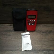 Durabuilt Electronic Tape Measure With Laser Pointer Case And Guide