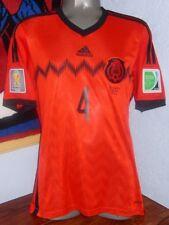 ADIDAS MEXICO WC2014 AWAY RAFA MARQUEZ S VS BRAZIL ORIGINAL SOCCER JERSEY  SHIRT dc480f8f4ab5b