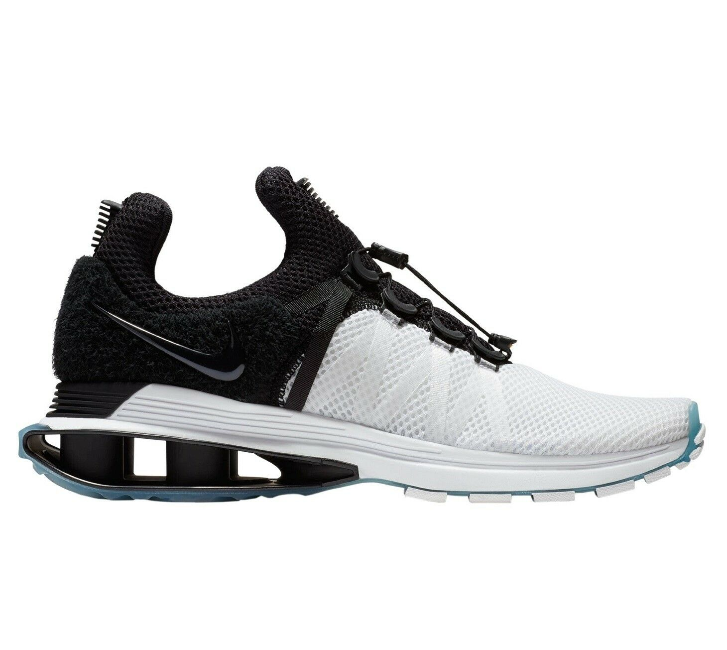 Nike Shox Gravity Mens AR1999-101 White Black Mesh Running Shoes Comfortable Seasonal price cuts, discount benefits