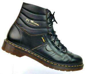 b3d712442d2 Dr. Martens Kamin Black Leather Hiking Work Boots AirWair Men's US ...