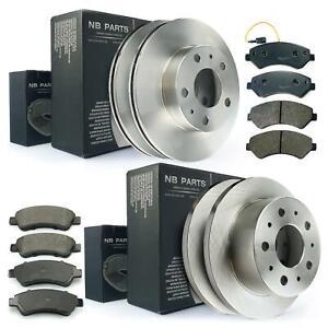 Brake-Discs-Brake-Pads-Front-Rear-Citroen-Jumper-Fiat-Ducato-Peugeot-Boxer