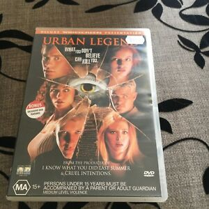URBAN LEGEND DVD.