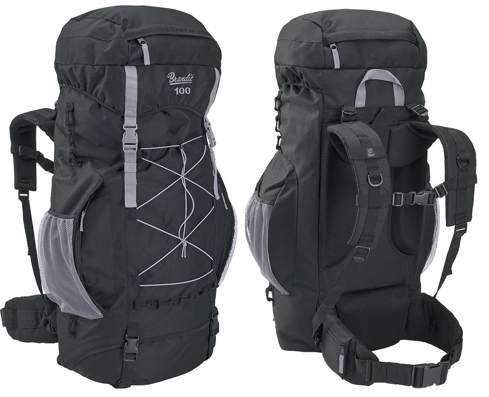 Brandit Rucksack AVIATOR 35-100 35-100 35-100 Liter Trekking rucksack Outdoor mit Regenhülle fa1b34