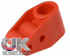 Rosso Doppia Cespuglio Di Sterzo 20mm negozio di KART di albero Regno Unito
