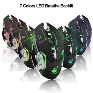 ALS-FA-Free-Wolf-X8-Silent-2-4GHz-2400DPI-6-Keys-Wireless-Optical-Mouse-USB-Re