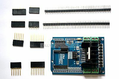 NRF24L01 2.4g Xbee L298N H-bridge DC Motor Driver Shield For Open Source