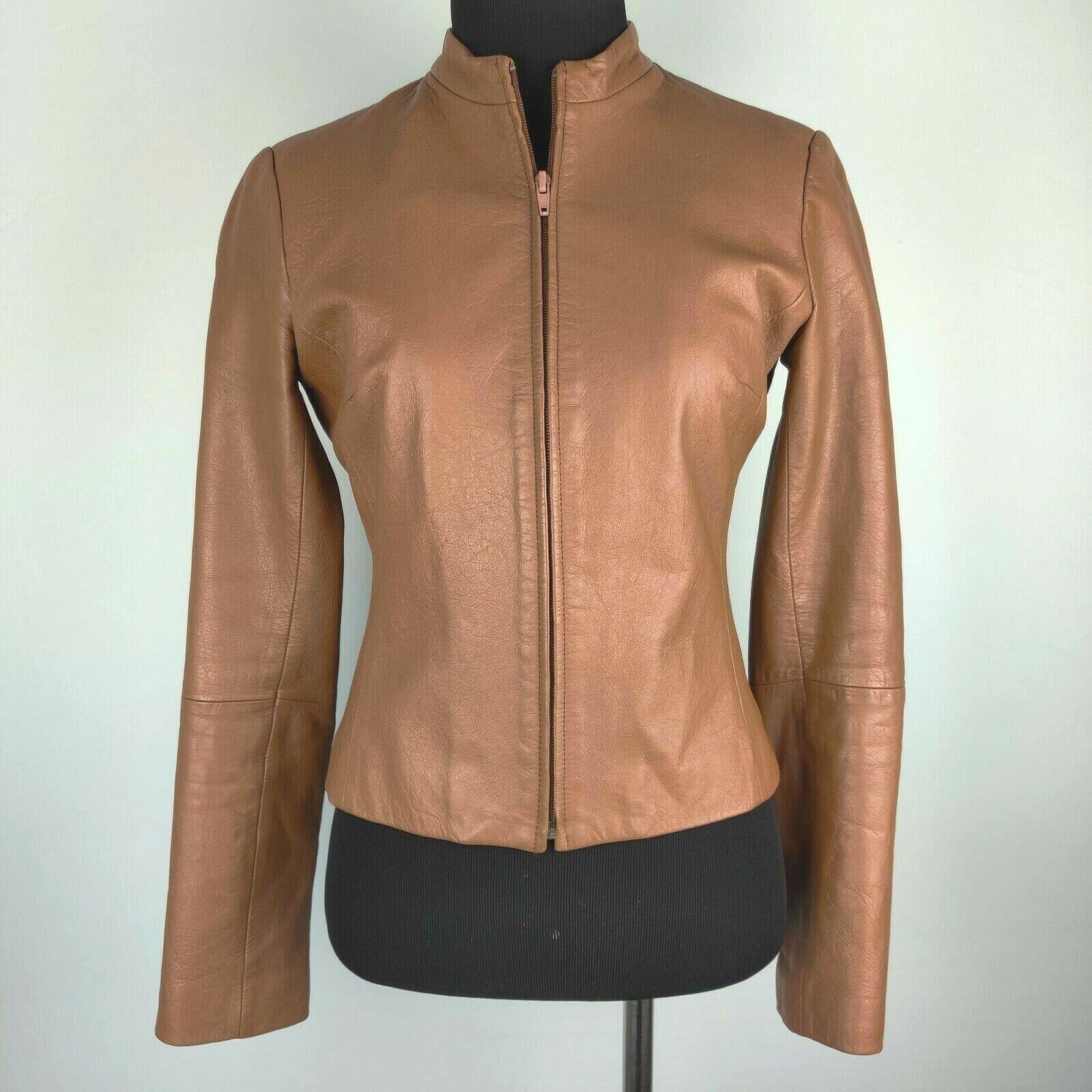 $268 NEW NWT Womens BCBG ASYMMETRICAL ZIP LONG FAUX LEATHER MOTO JACKET COAT S