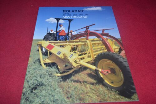 New Holland 57 256 258 260 216 Rolabar Rake Dealer/'s Brochure CDIL