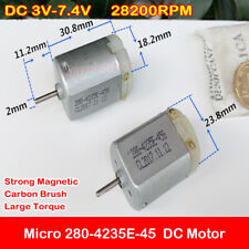 DC 3V 5V 6V Mini Electric Screwdriver Micro 280 Motor DIY Small Hand Screwdriver