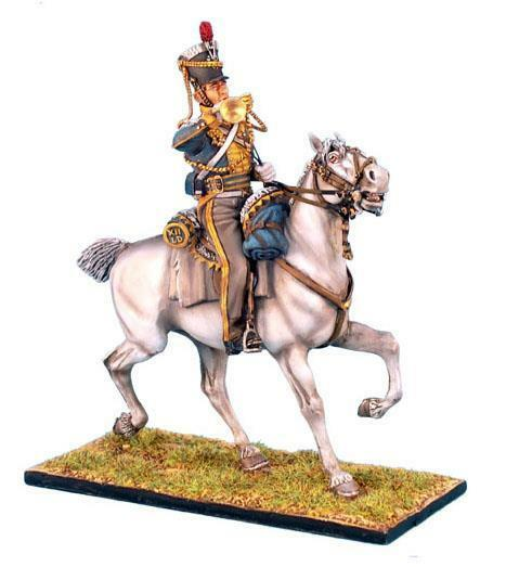 First Legion - NAP199 - British 12th Light Dragoons Trumpeter - Napoleonic