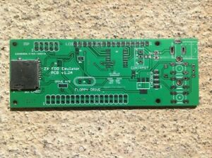 *NEW* ZX Spectrum floppy disk (FDD) EMU PCB board & SD card connector--Arduino