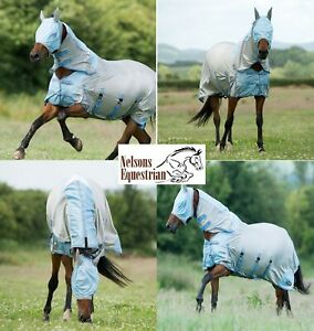 Combo Neck Cover And Mask Horse Insect