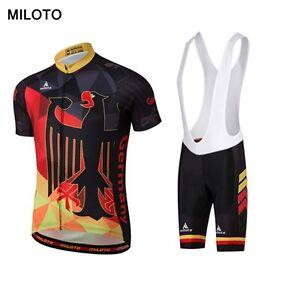 Image is loading Summer-Short-Sleeve-Cycling-Jersey-set-Mountain-Bike- b66678739