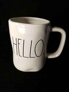 Magenta-Inc-Rae-Dunn-HELLO-Coffee-Cup-Tea-Mug
