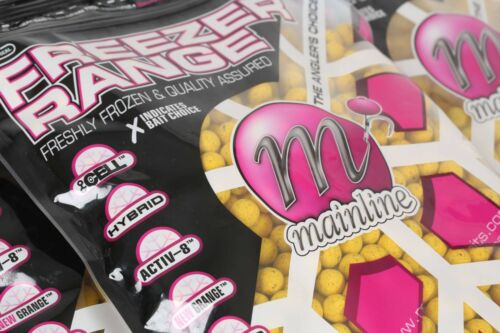10kg OF MAINLINE FROZEN ESSENTIAL CELL FLAVOUR BOILIES 18mm, FOR CARP FISHING