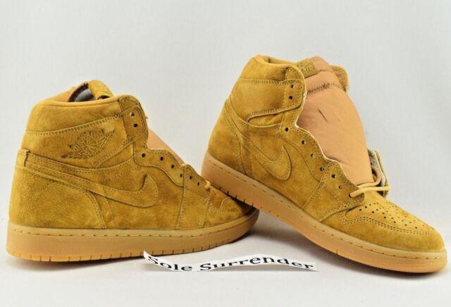 65b05a6ddad Air Jordan 1 Retro High OG CHOOSE SIZE- 555088-710 Golden Harvest Flax Wheat