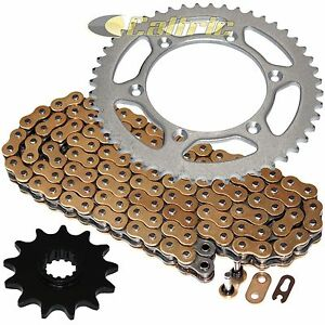 Golden O-Ring Drive Chain & Sprocket Kit Fits SUZUKI RM250 1989-1997 2001-2003