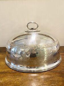 Coprivivande Cupola Sheffied Antico Epns 1495 Gr