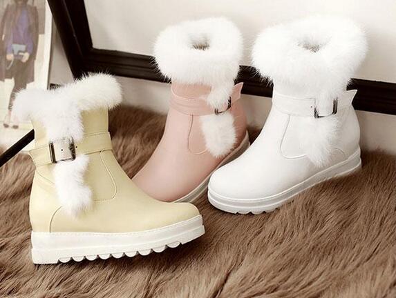 Botines botas muslo rosa mujer talón 5.5 blanco rosa muslo beige como piel 9393 a4ca81