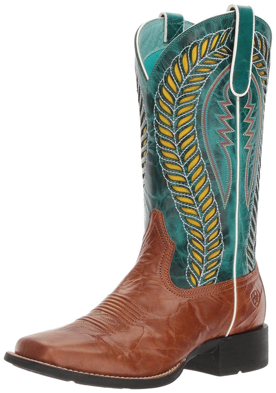 Ariat donna Quickdraw Venttek Western Cowboy avvio- Pick SZ Coloree.
