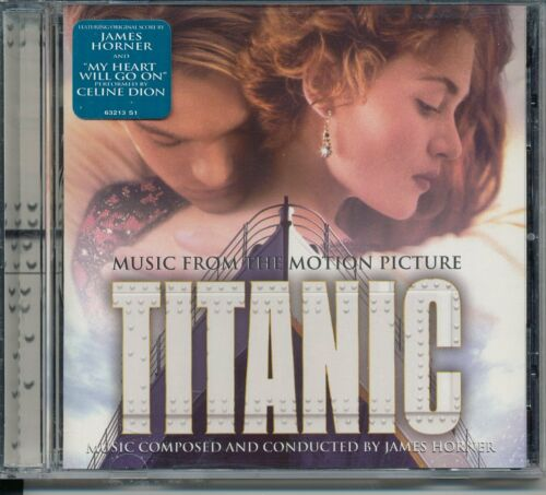 1 of 1 - Titanic [Music from the Motion Picture] by James Horner (CD, Nov-1997, Sony...