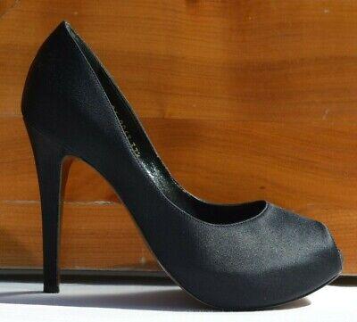Walter Steiger High Heels Pumps Schuhe Gr 37,5 Plateau Sohle