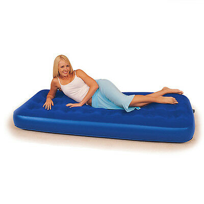 Bestway Single Air Bed Mattress Comfort Quest Inflatable Raised Flocked