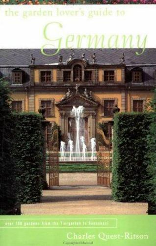 Garden Lover's Guide to Germany Paperback Penelope Hobhouse