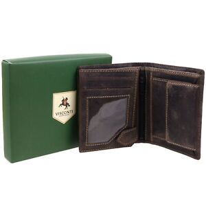 Mens-Premium-Quality-Leather-Wallet-by-Visconti-Hunter-Collection-Gift-Box-Dis