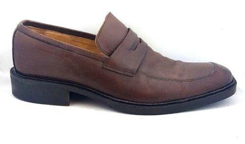 Penny Coach 8 5 Slip marrone D Loafer Shoe Mackenzie on in Dress Italy pelle 0wUa0Z