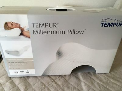 Tempur Genuine Memory Foam Millennium Neck Pillow Hard Size M 5705940618159 Ebay