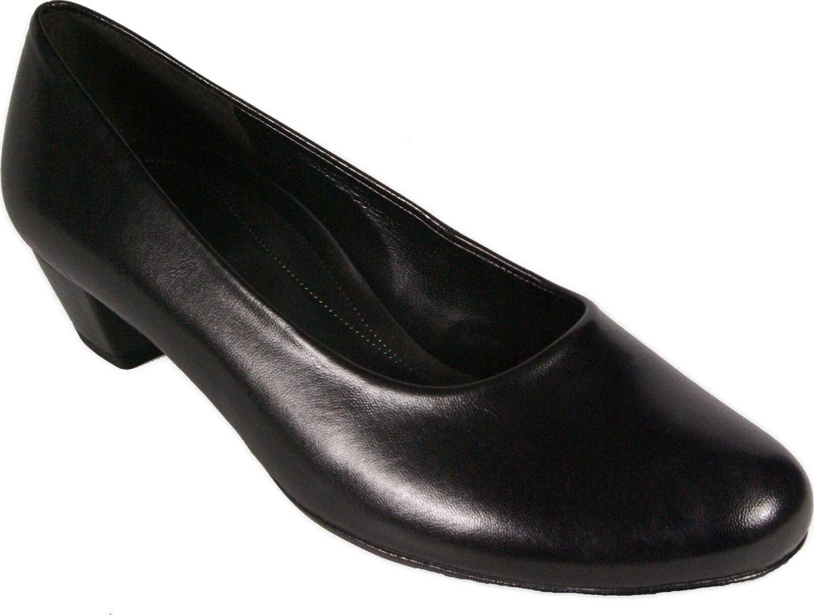 GABOR Schuhe  Pumps schwarz echt Leder  Schuhe H-Weite Absatz 35 mm NEU ea62f3