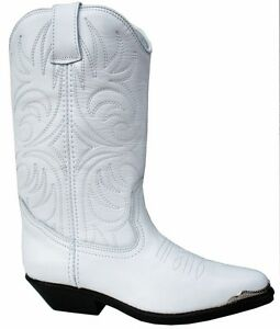 Genuine Leather Cowboy Cowgirl Boots