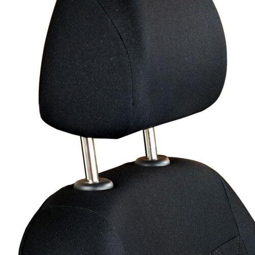 Noire Sitzbezüge pour TOYOTA AURIS avant Sitzbezüge