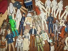 STAR WARS VINTAGE AUTHENTIC FIGURE GRAB BAG LOT/3~LUKE?LEIA?HAN?VADER?GREAT DEAL