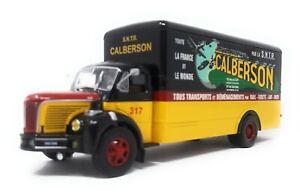 IXO-1-43-Truck-Berliet-GLR-Calberson-model-car-metal-plastic