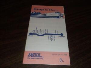 APRIL-2006-METRA-CHICAGO-TO-ELBURN-PUBLIC-TIMETABLE