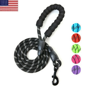 US-Pet-Rope-Dog-Lead-Strong-Training-Small-Medium-Large-Dogs-Leash-6-ft-Long-OC
