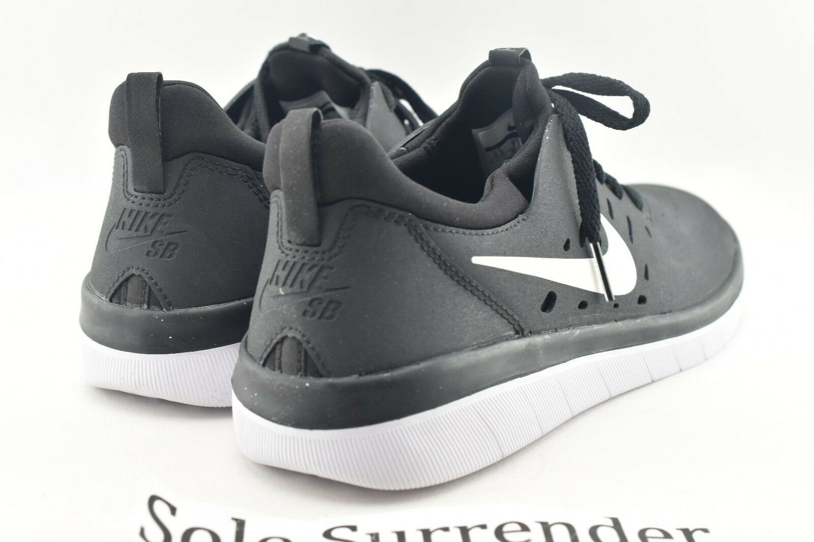 Nike sb nyjah aa4272-001 libera scegliere taglia aa4272-001 nyjah houston white skateboarding 147fc1