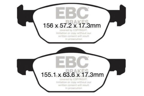 EBC Ultimax Front Brake Pads for Honda Civic 10th Gen 1.5 Turbo 180HP 2017 on